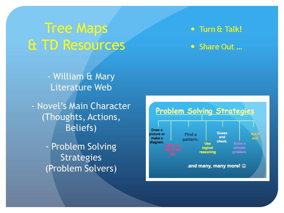 Tree Maps & TD Resources