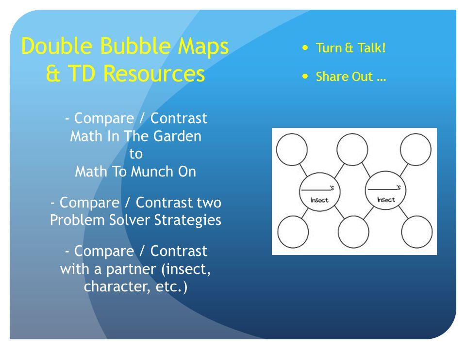 Double Bubble Maps & TD Resources
