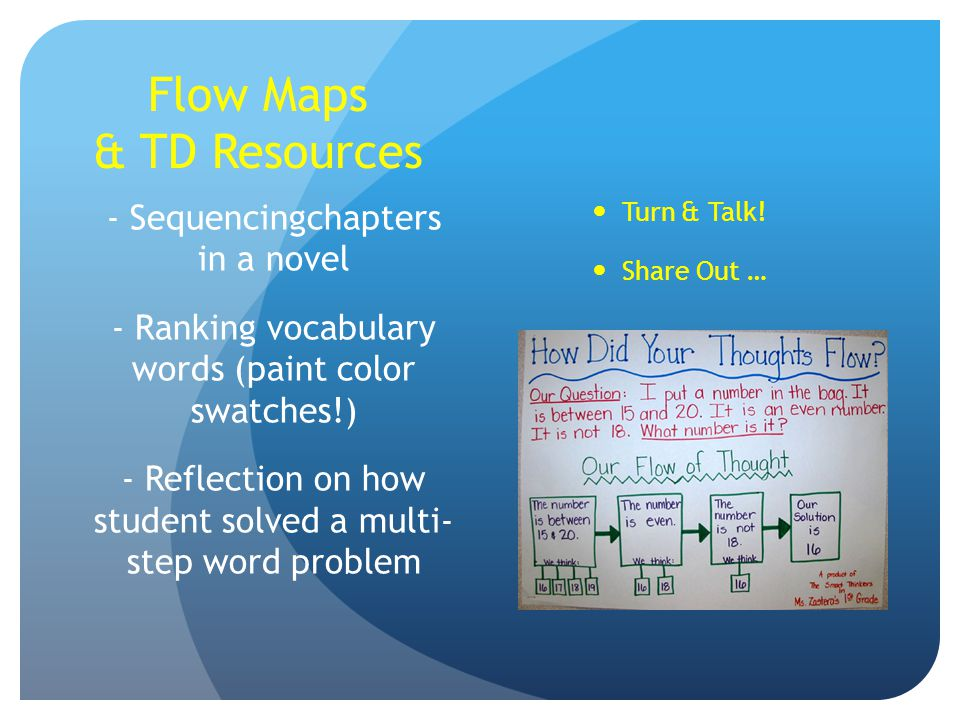 Flow Maps & TD Resources