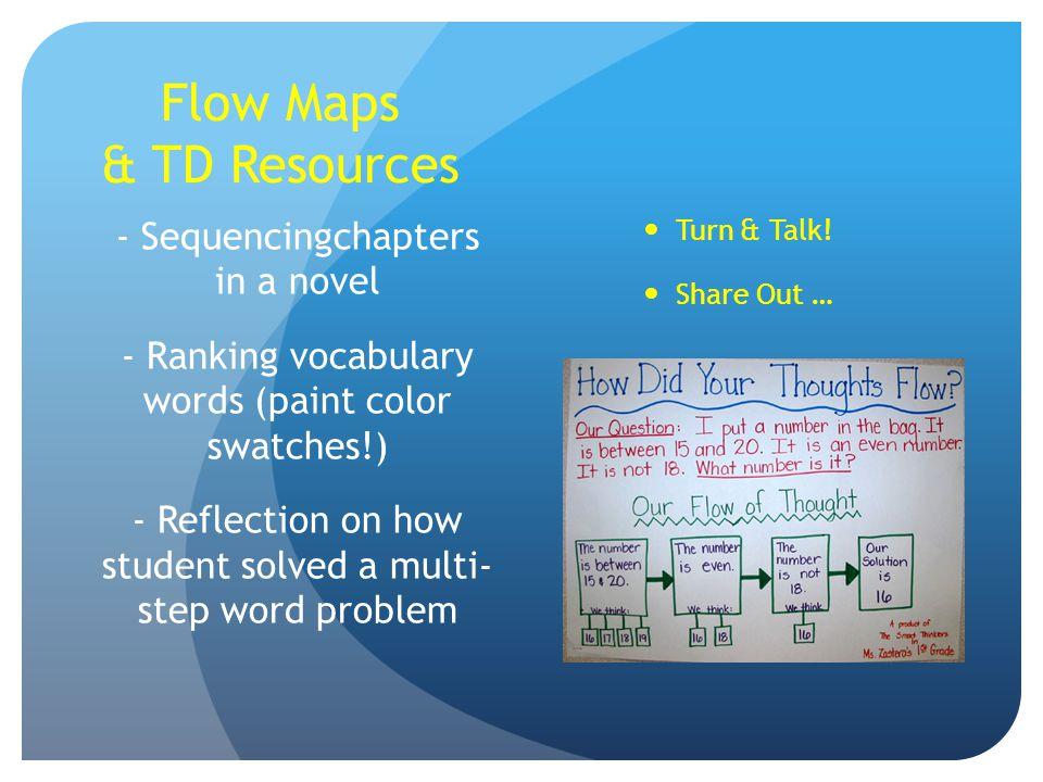 Flow Maps & TD Resources