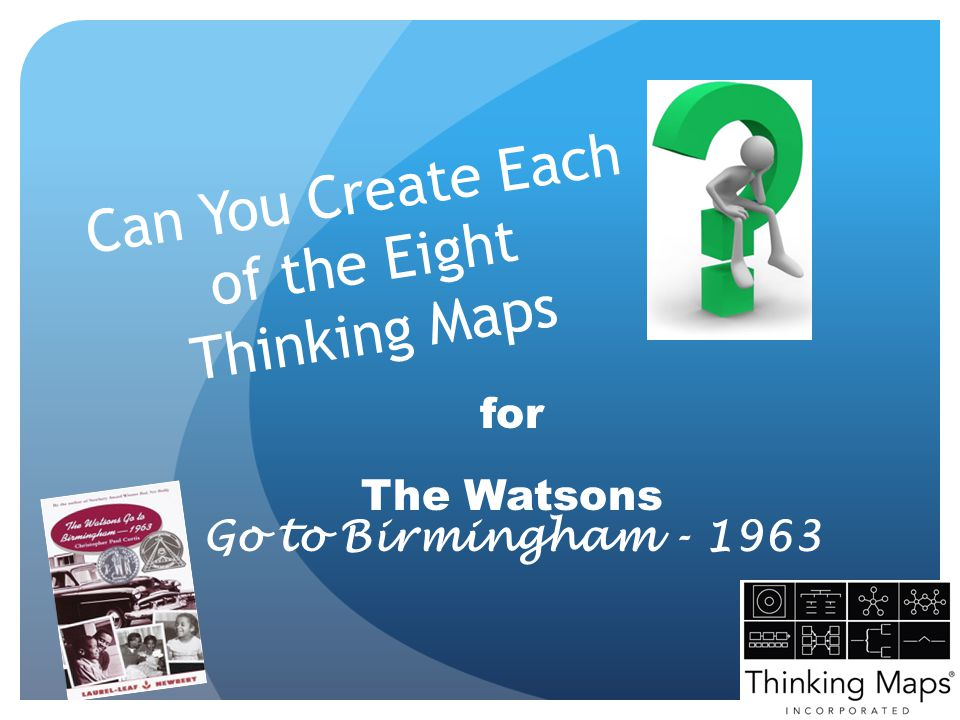 Can You Create Each of the Eight Thinking Maps