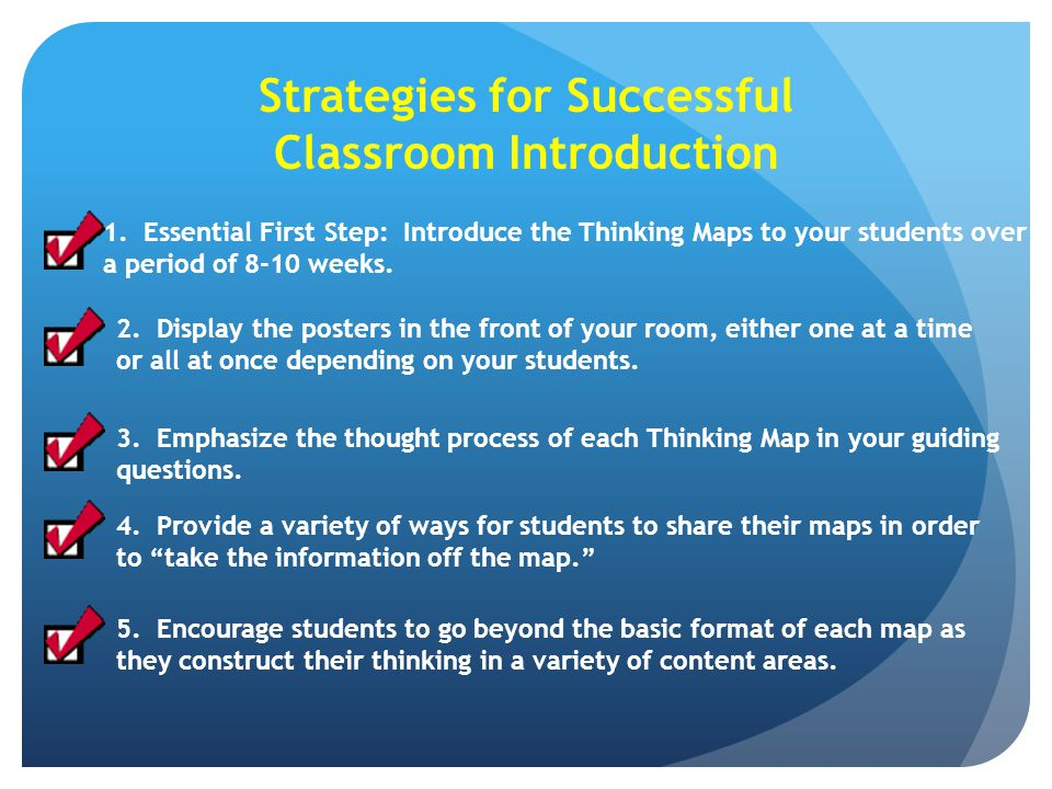 Strategies for Successful Classroom Introduction