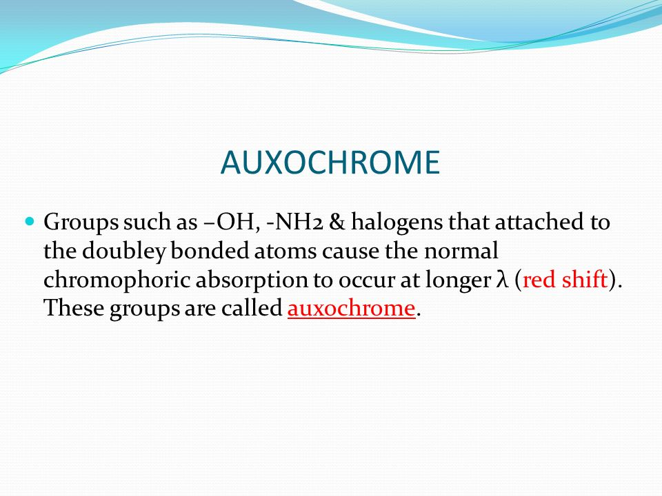 AUXOCHROME