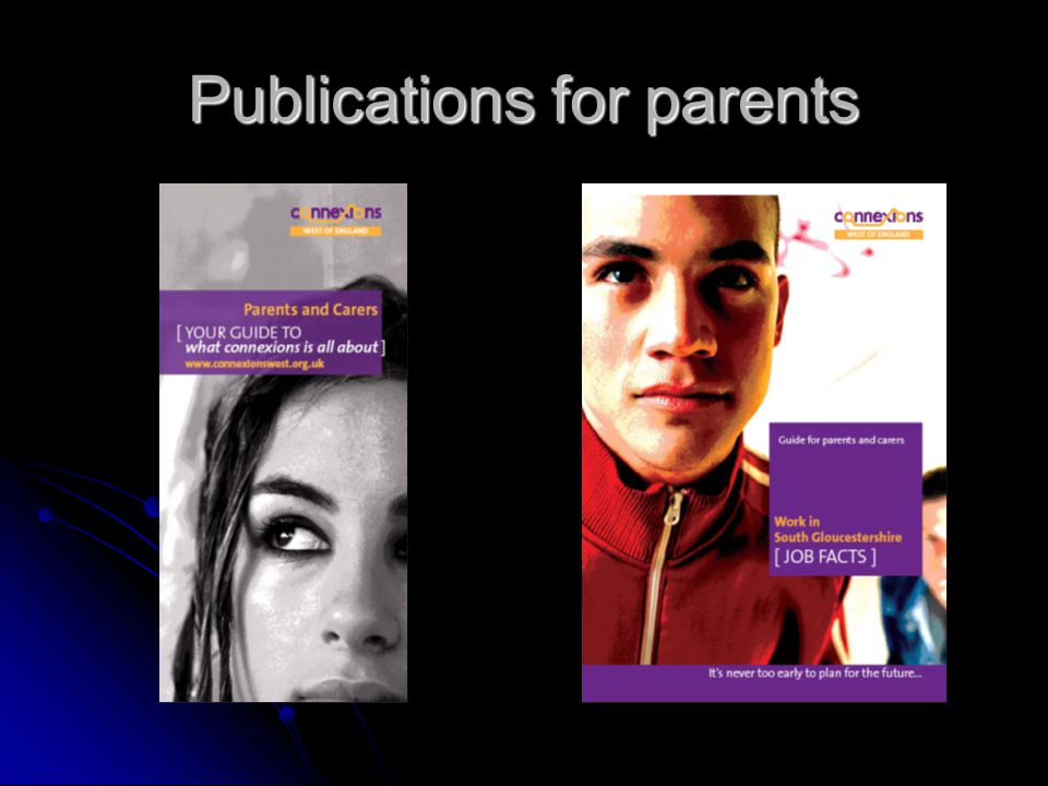 Publications for parents