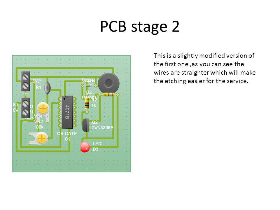 PCB stage 2