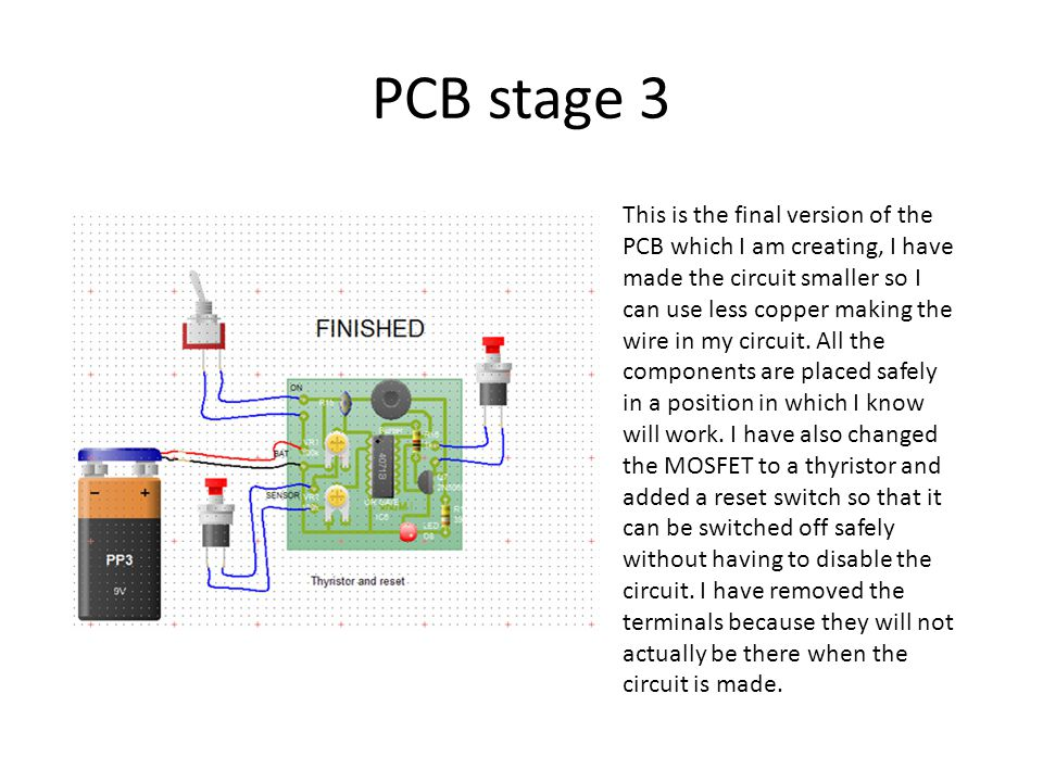 PCB stage 3