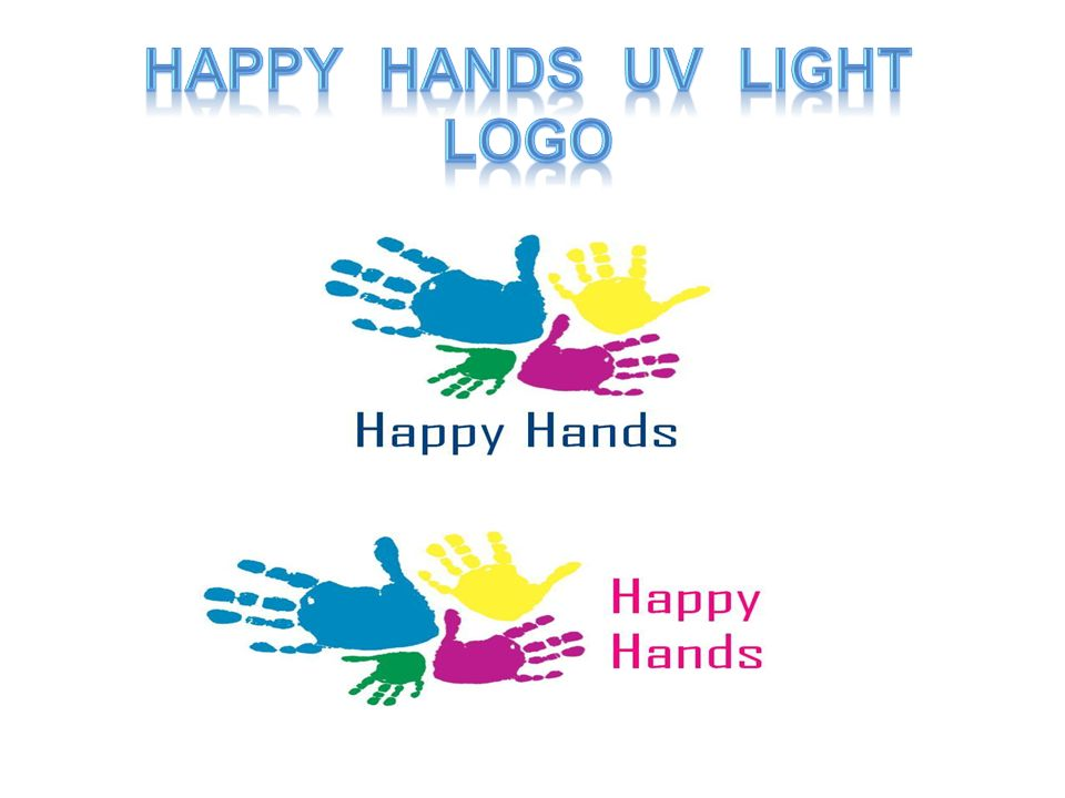 Happy Hands UV LighT Logo