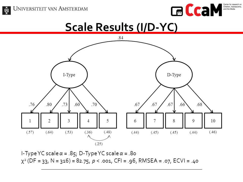 Scale Results (I/D-YC)