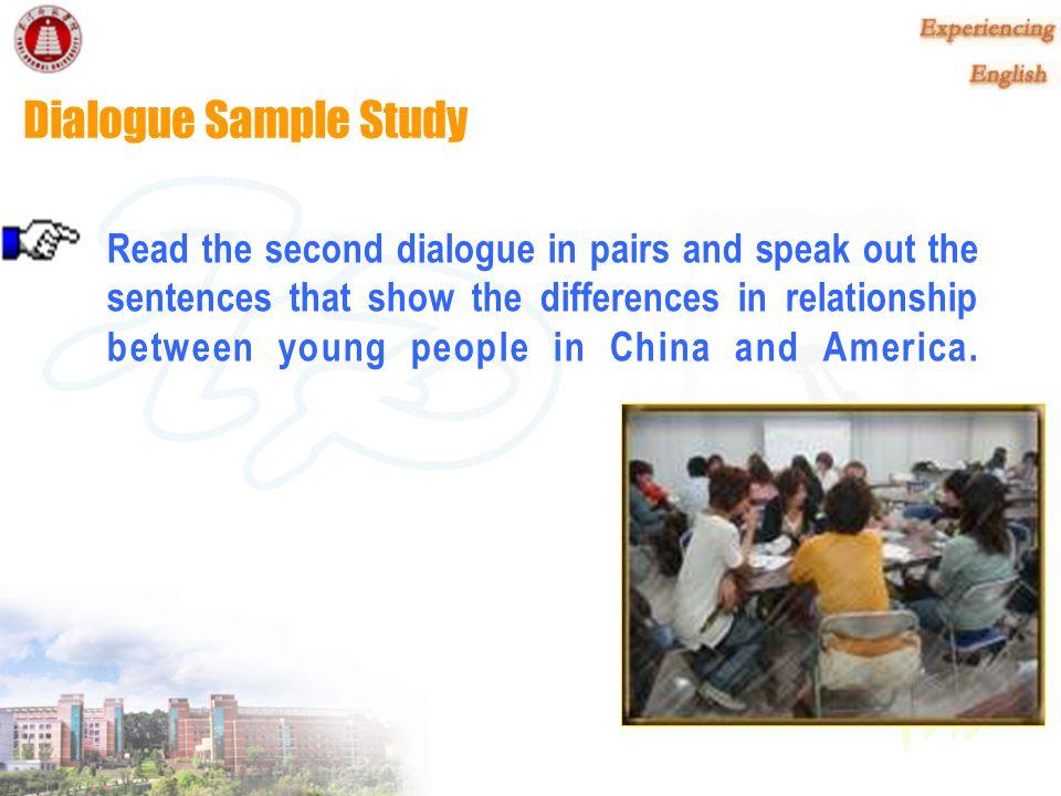 Dialogue Sample Study