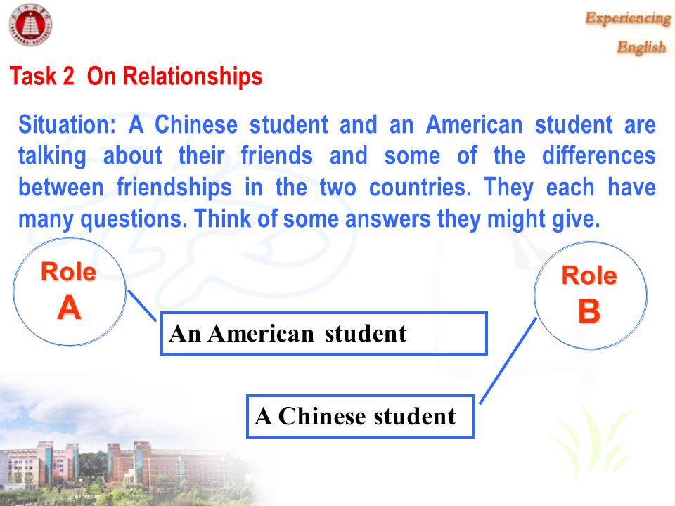 A B Task 2 On Relationships
