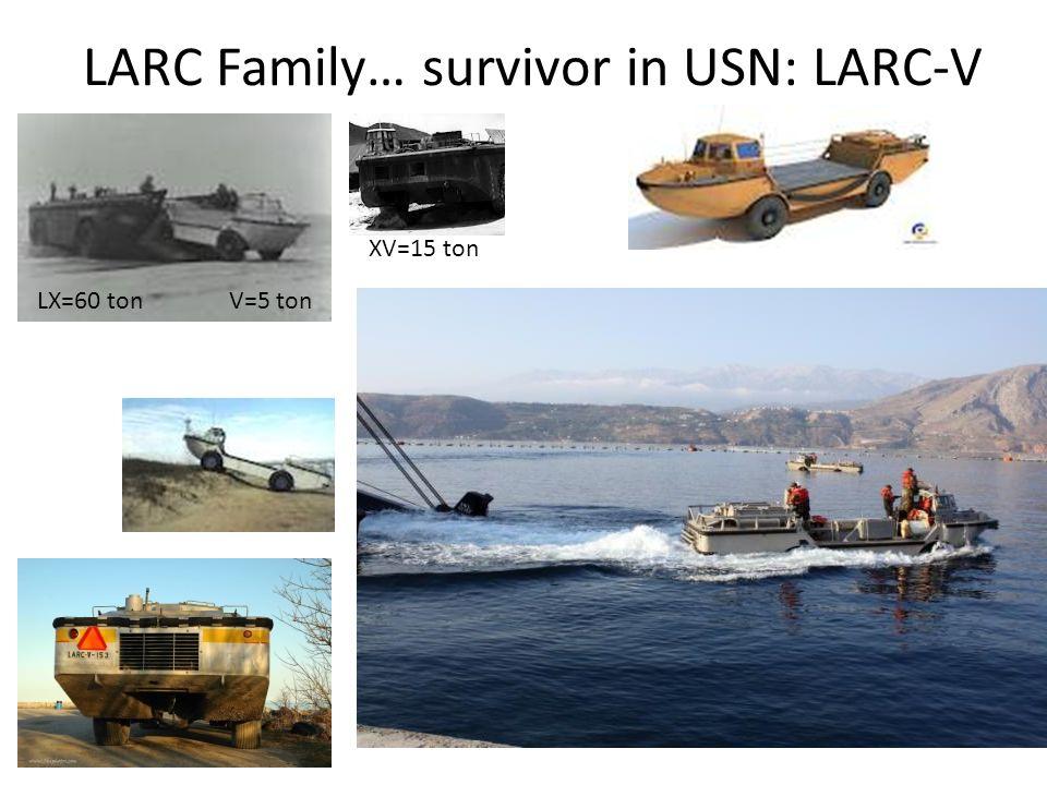 LARC Family… survivor in USN: LARC-V