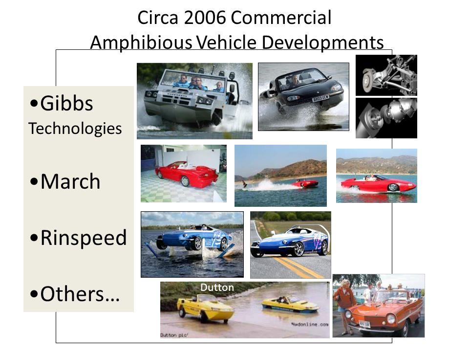 Circa 2006 Commercial Amphibious Vehicle Developments