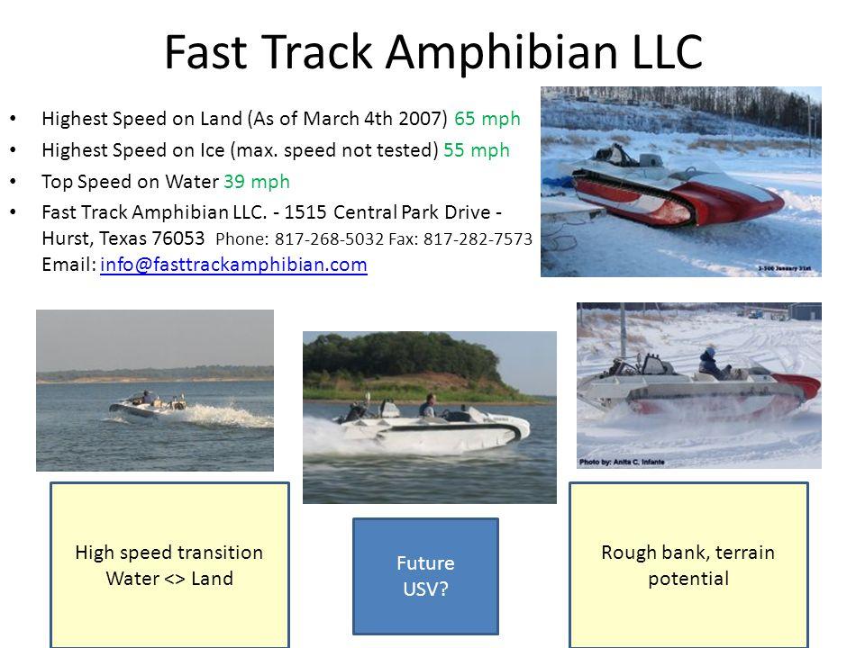 Fast Track Amphibian LLC