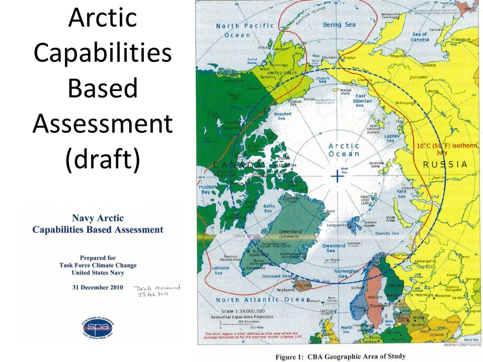 Arctic Capabilities Based Assessment (draft)
