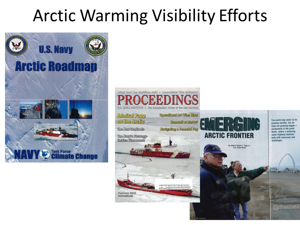 Arctic Warming Visibility Efforts