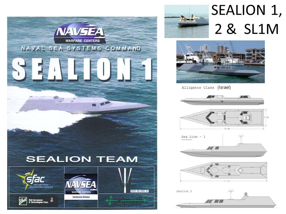 SEALION 1, 2 & SL1M (Israel)