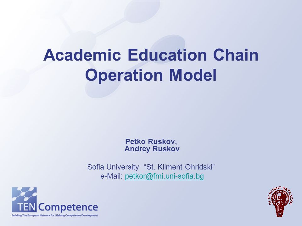 Academic Education Chain Operation Model