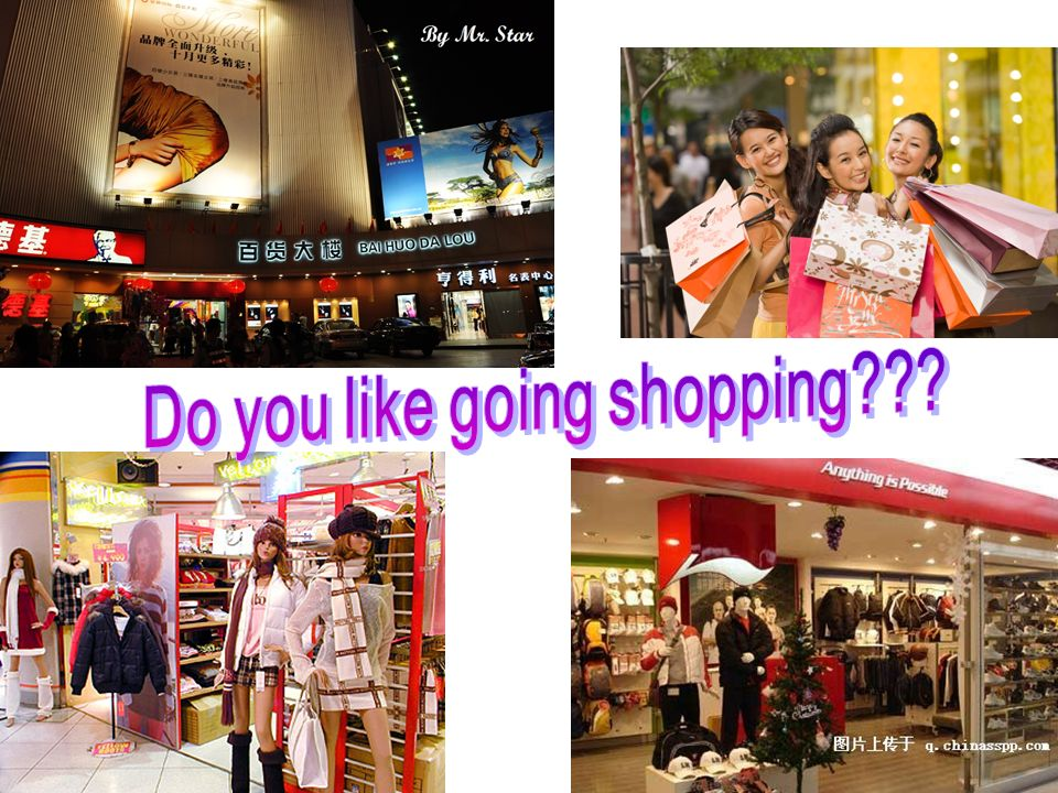 Do you like going shopping