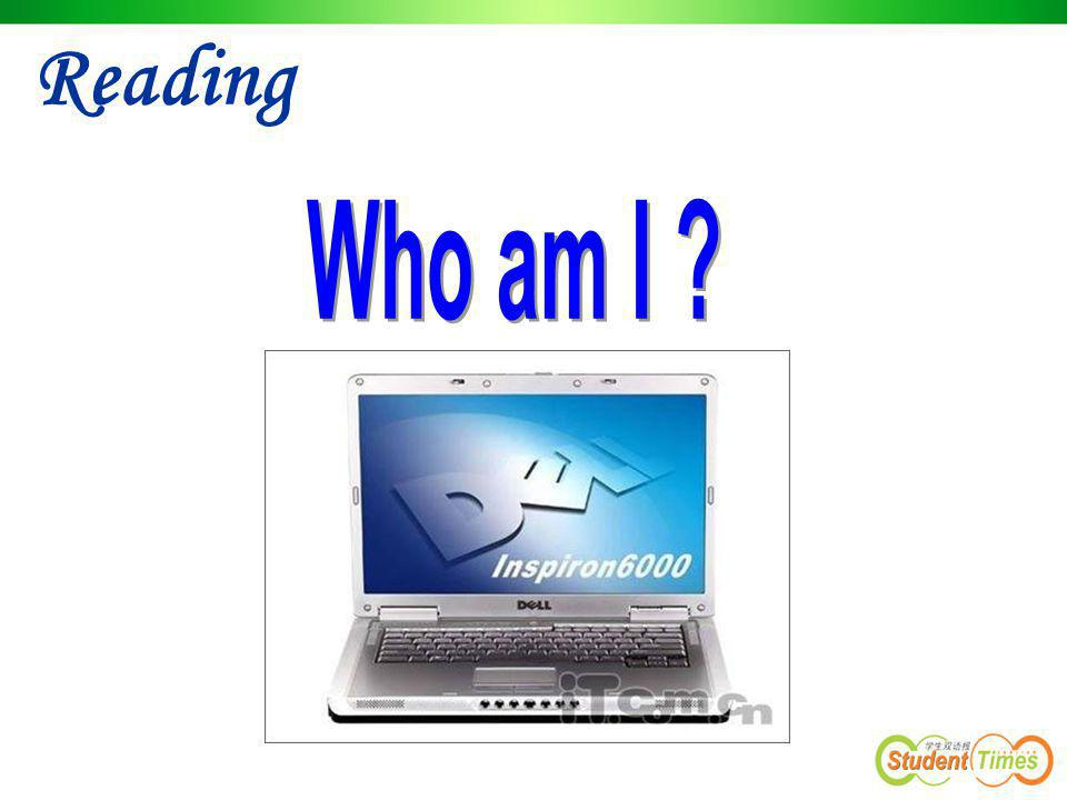 Reading Who am I
