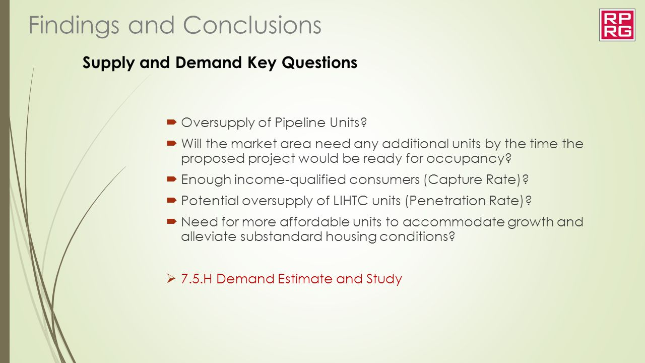 Supply and Demand Key Questions