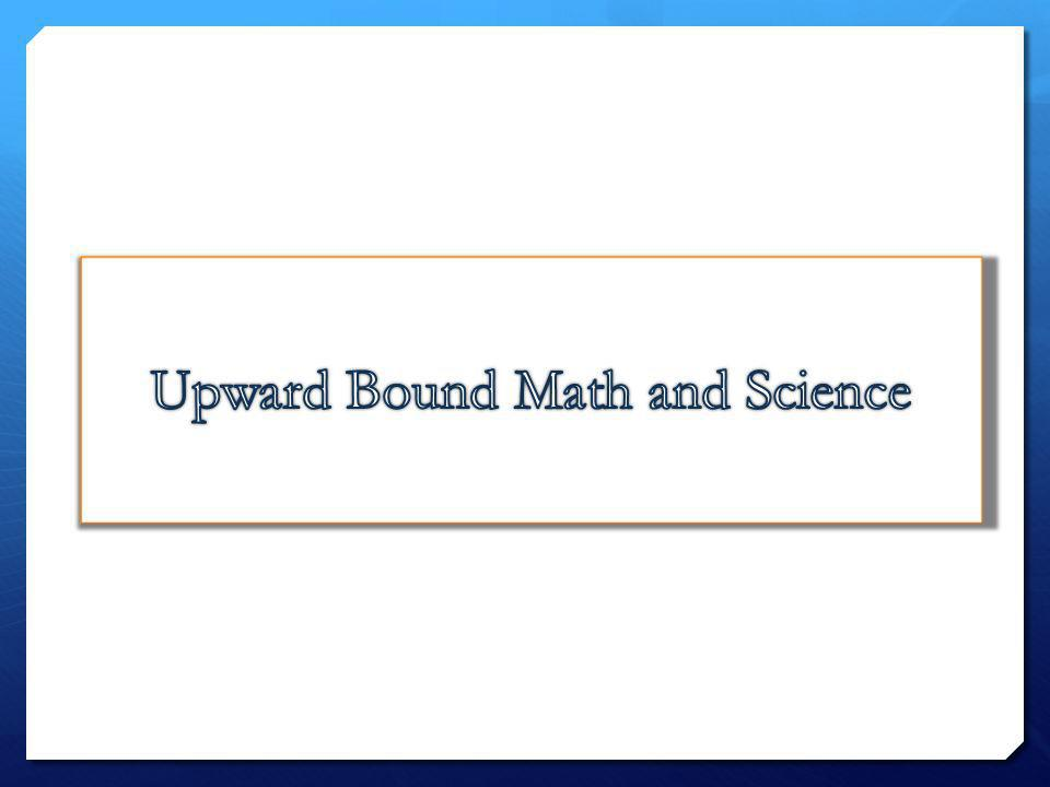 Upward Bound Math and Science