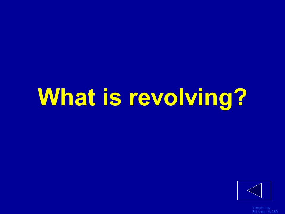 What is revolving Template by Bill Arcuri, WCSD