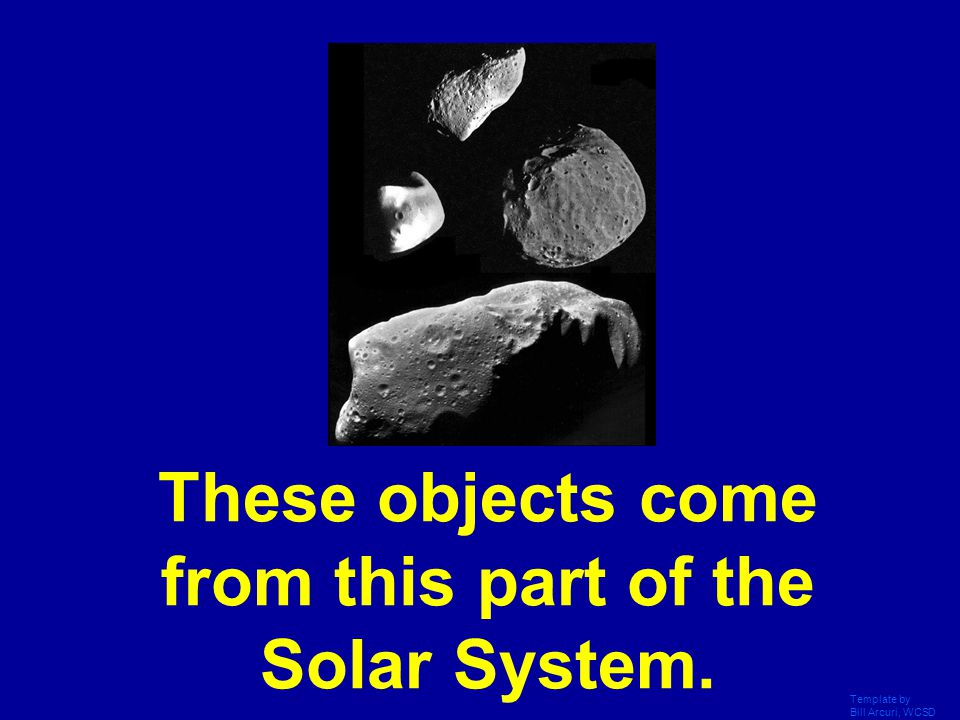 These objects come from this part of the Solar System.