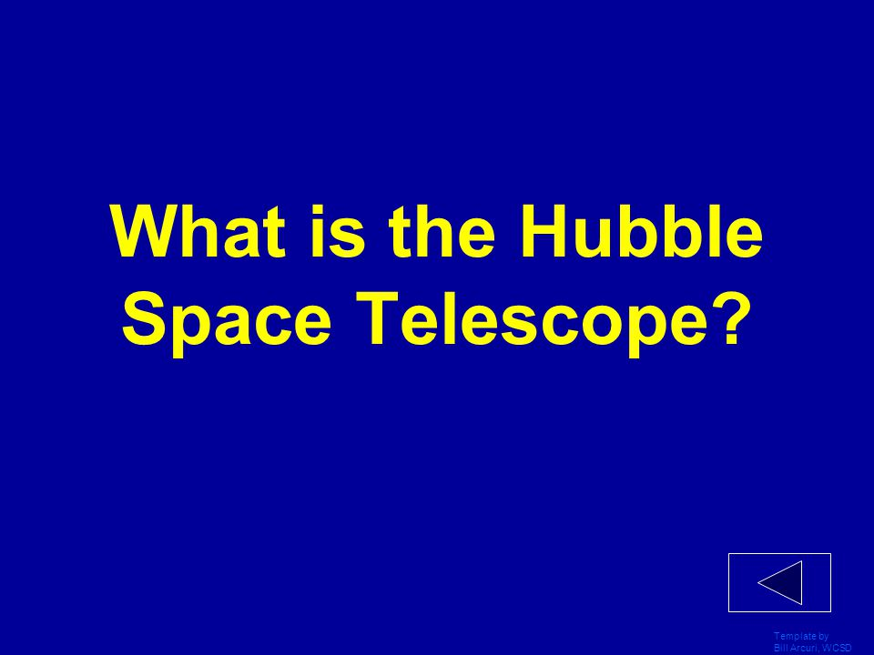 What is the Hubble Space Telescope