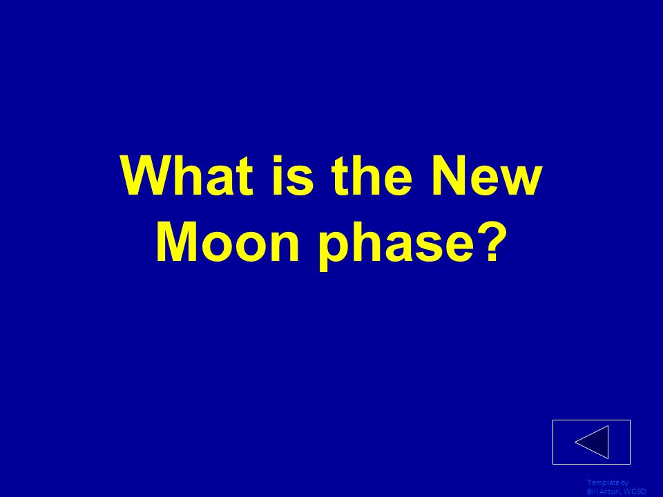 What is the New Moon phase