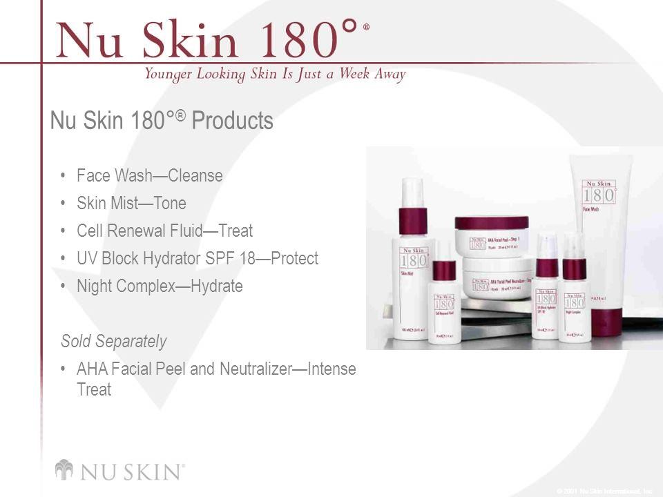 Nu Skin 180°® Products Face Wash—Cleanse Skin Mist—Tone
