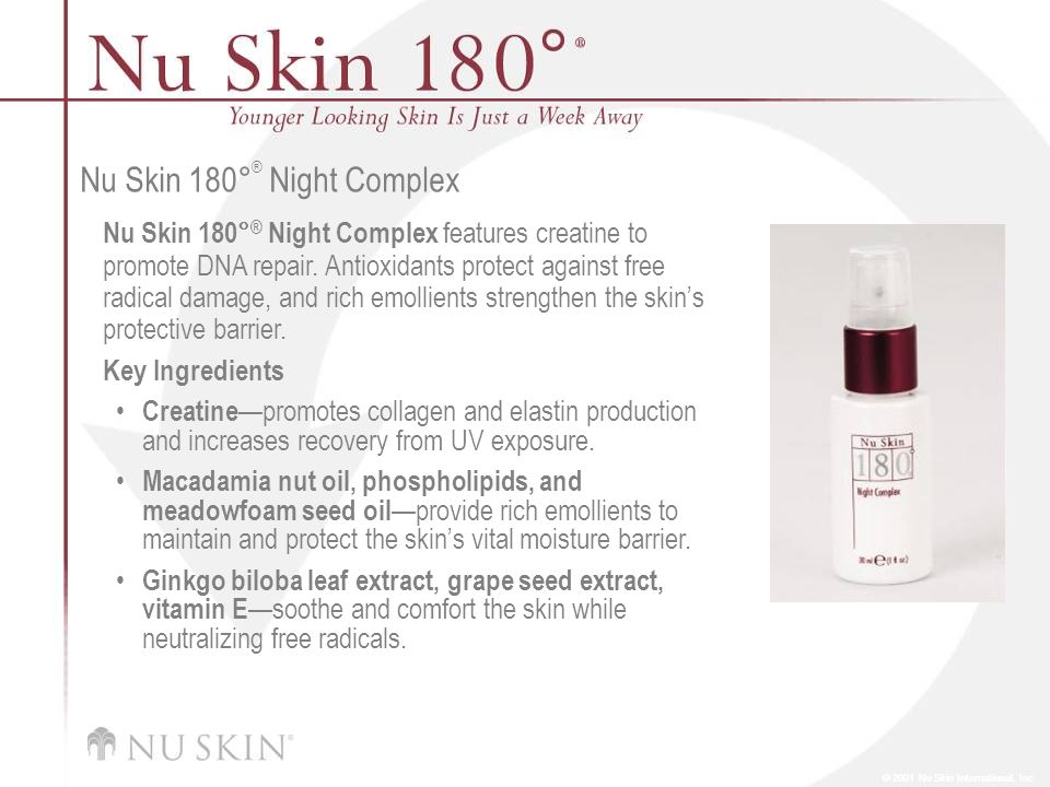 Nu Skin 180°® Night Complex