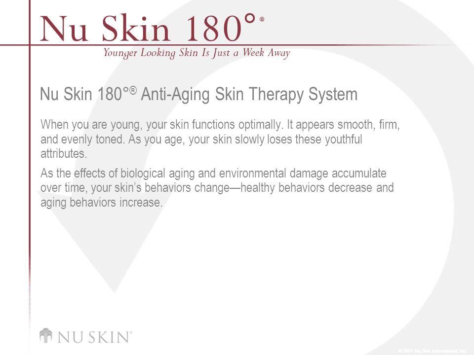 Nu Skin 180°® Anti-Aging Skin Therapy System