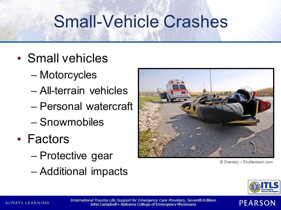 Pedestrian Injuries Mechanism Common injuries Primary collision