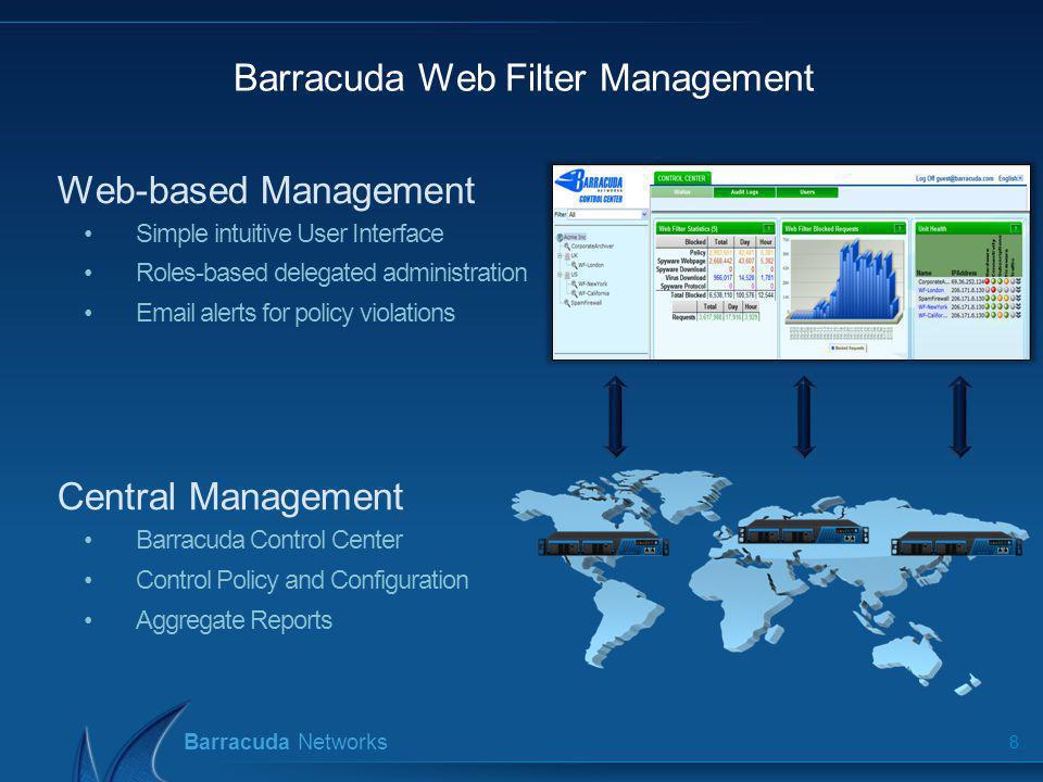 Barracuda Web Filter Management