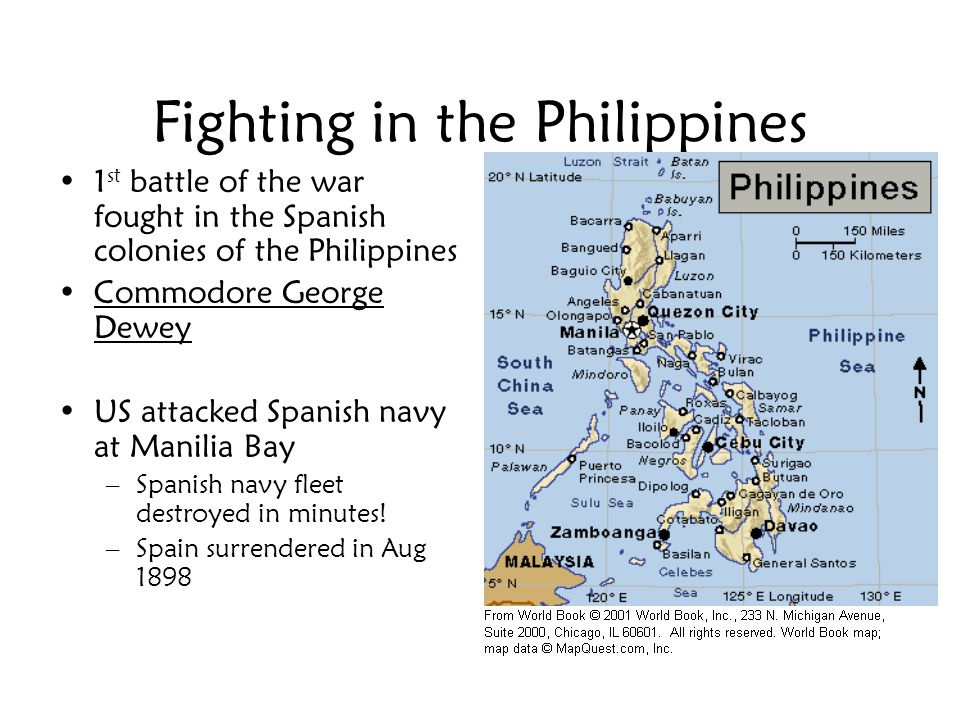 Fighting in the Philippines