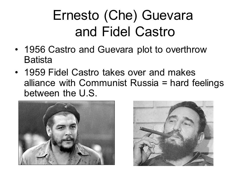 Ernesto (Che) Guevara and Fidel Castro