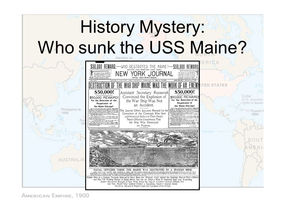 History Mystery: Who sunk the USS Maine