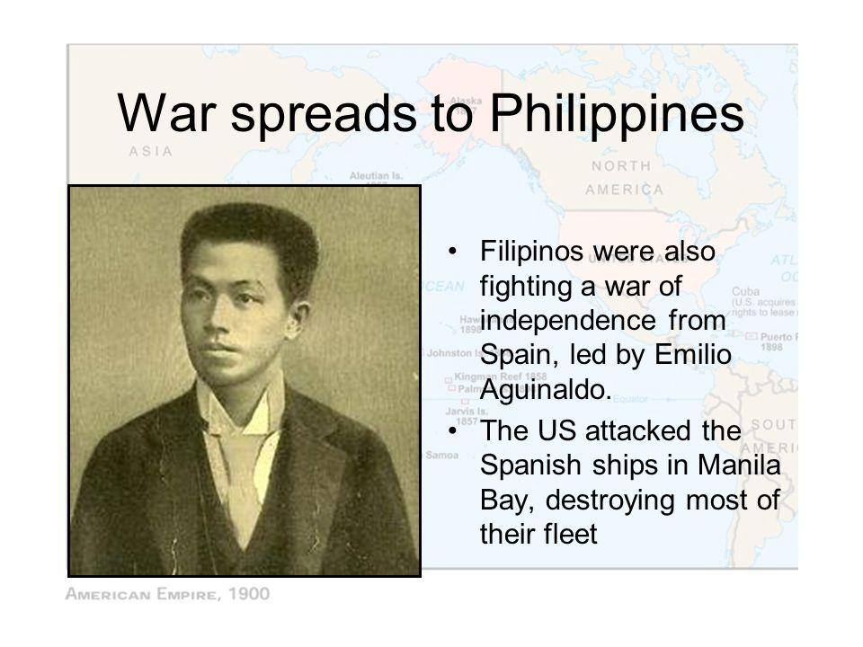 War spreads to Philippines