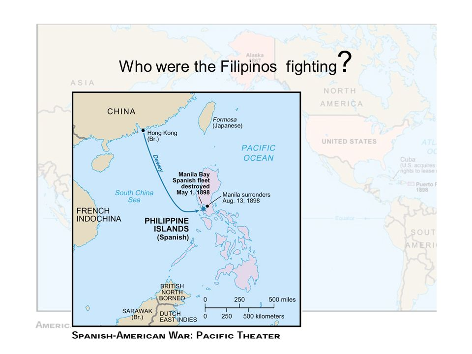 Who were the Filipinos fighting