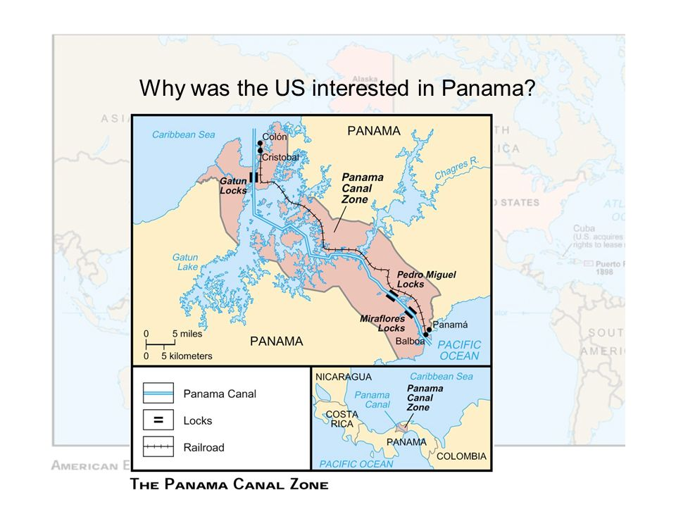 Why was the US interested in Panama