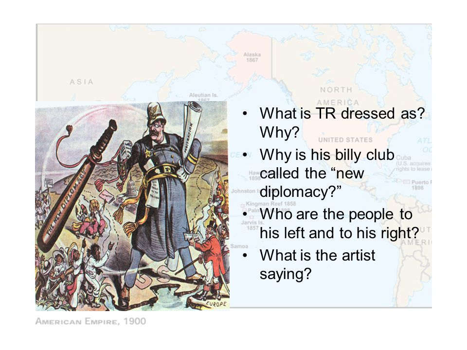 What is TR dressed as Why