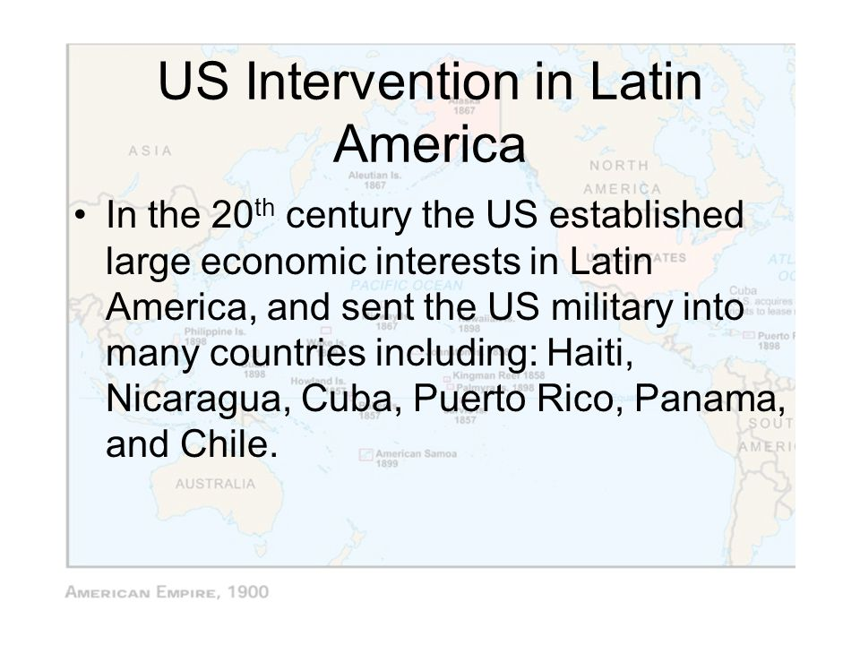 US Intervention in Latin America