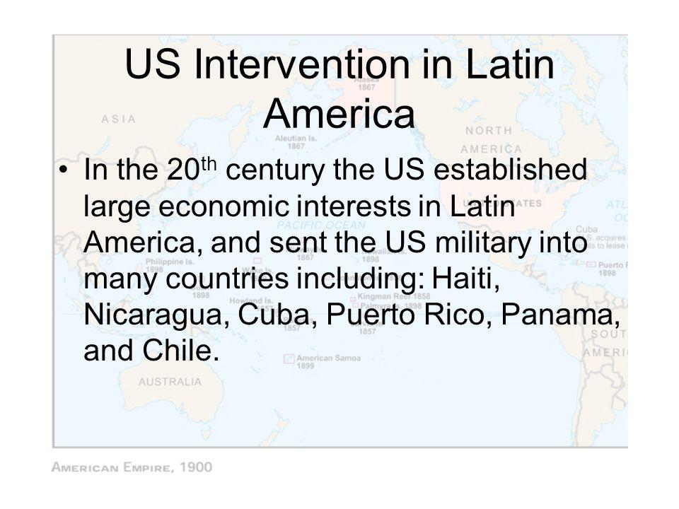 US Intervention in Latin America