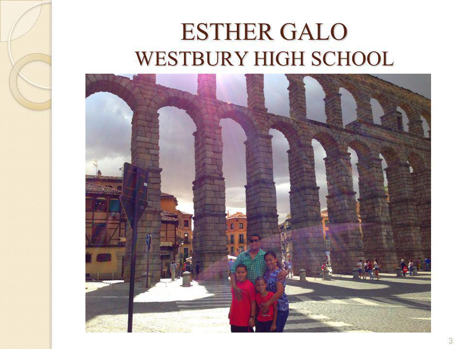 ESTHER GALO WESTBURY HIGH SCHOOL