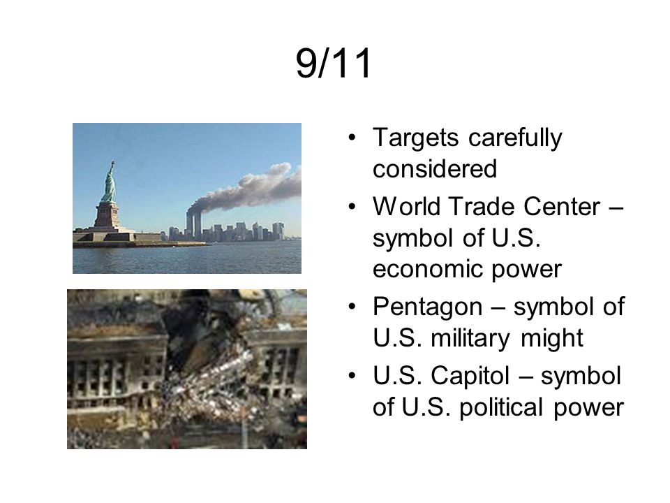 9/11 Targets carefully considered