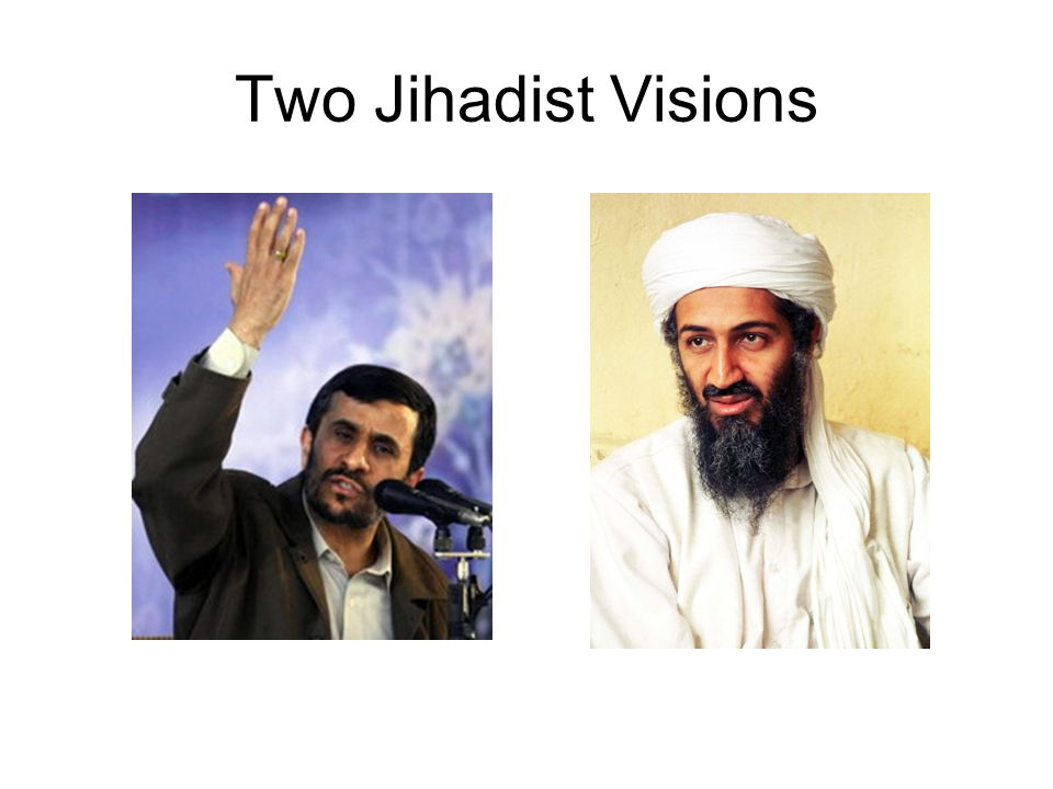 Two Jihadist Visions The Sunni Front