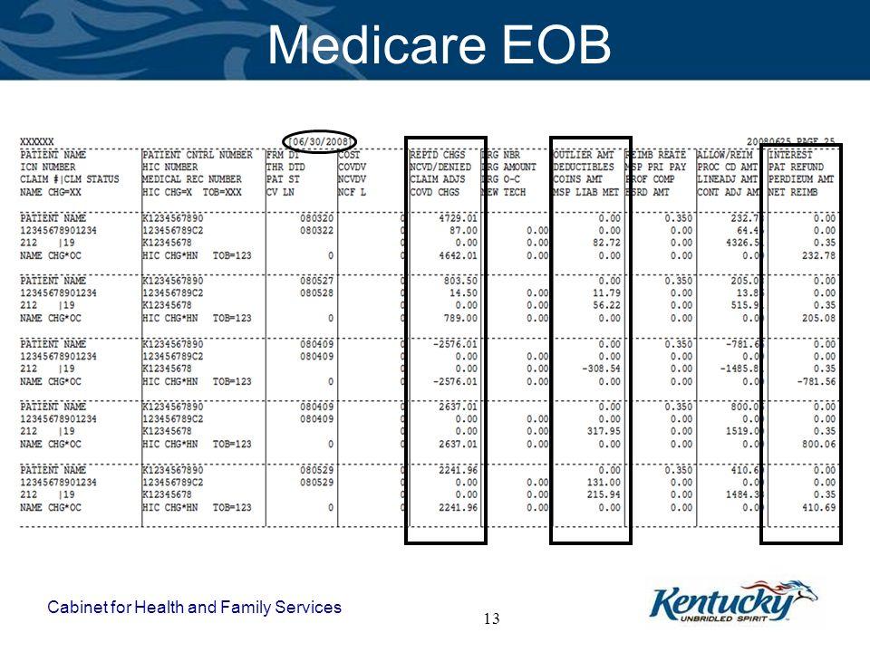 Medicare EOB