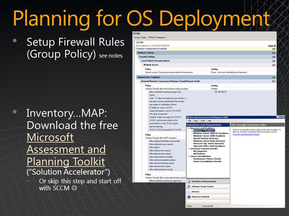 Planning for OS Deployment