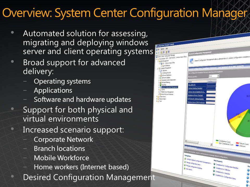Overview: System Center Configuration Manager