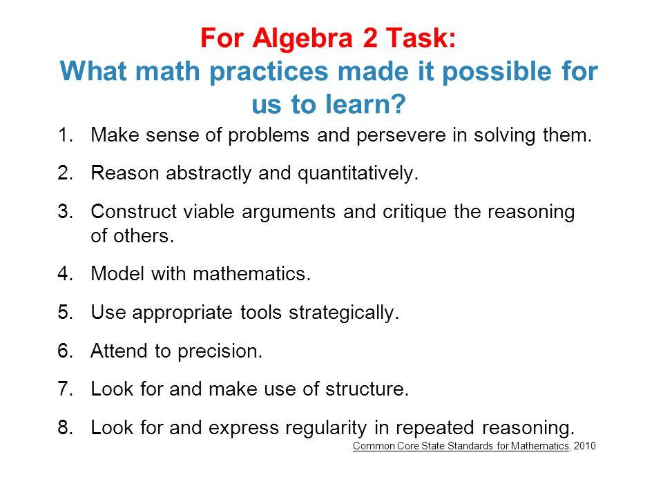 Algebra 2 Practice Quiz 7.5 - 7.6 - YouTube
